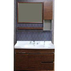 诺肯木纹1.2米浴室柜套组  货号119061