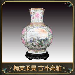中艺盛嘉传统特色手工艺熊建军大师瓷器复兴尊家居摆件收藏品