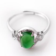 DODOBEL WOMAN女性925银镶嵌玉髓戒指