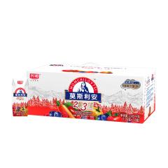 光明 莫斯利安2果3蔬 红色款135g*18红果蔬酸奶 新老包装随机发货