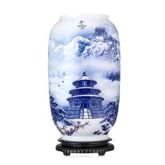 冬奥《瑞雪迎春》艺术珍藏瓷瓶