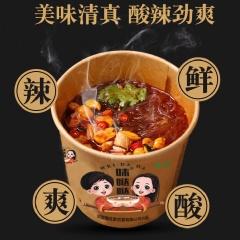 味哒哒酸辣粉122g*6桶/箱