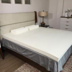 泰米拉进口10cm乳胶床垫1.8