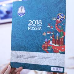 中艺盛嘉2018年俄罗斯FIFA世界杯官方纪念钞赠品特色外事送礼