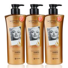 韩国原装进口爱敬可希丝沙龙护理滋养洗发香波三瓶装