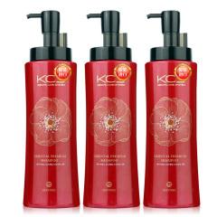 韩国原装进口爱敬可希丝顺滑洗发香波3瓶装