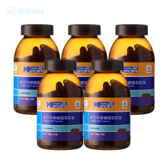 维灵牌卵磷脂软胶囊90粒*5瓶调节血脂