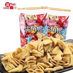 三惠尖角脆500g 锅巴薯片实惠礼包多口味 办公室零食