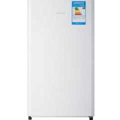 海尔(Haier)93升 单门冰箱 节能环保 七档温度可调 BC-93TMPF