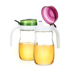 SIMELO首尔风情玻璃油醋壶680ML(紫色)