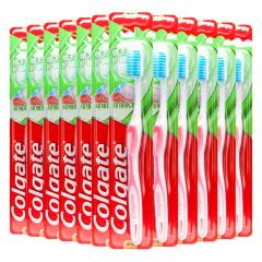 高露洁(Colgate)细毛护龈牙刷单支装*12