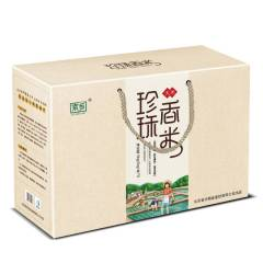 【馈赠佳礼】首农京乡珍珠香米礼盒 5kg