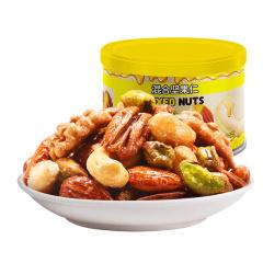 山里仁 美国进口 升级纯坚果 蜂蜜混合坚果仁227g