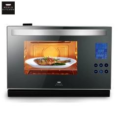 康宁(WORLDKITCHEN)蒸烤箱台式智能电蒸箱二合一蒸烤一体机WK-ESO/CN