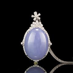 紫罗兰豪镶项链吊坠