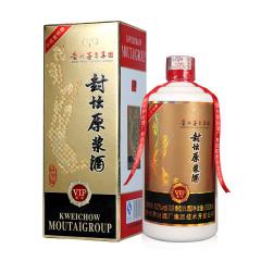 52度 贵州茅台集团 封坛原浆酒 VIP尊享 浓香型白酒 500ml 单瓶