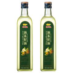 金龙鱼油茶籽油750ml*2瓶