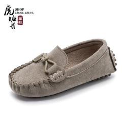 2021春季新款儿童豆豆鞋韩版男童女童休闲鞋牛筋底宝宝鞋