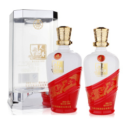 五粮液天贝春豪华52度500ml浓香型白酒(裸瓶销售)