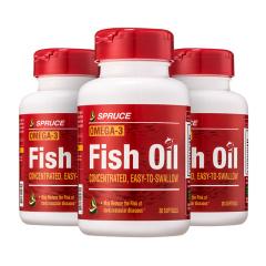美国进口云杉鱼油卵磷脂双11组 货号124585