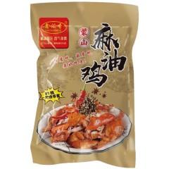 【地方美味】山东蒙山麻油鸡 600g(每只都是整鸡 拒绝拼装)