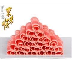 东来顺鲜嫩羔羊肉卷300g*2袋 火锅食材 内蒙古新鲜羊肉片清真食品