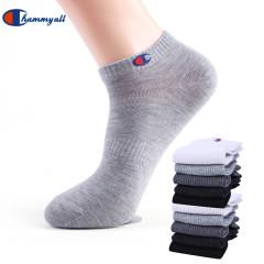 【10双装】2020四季款新款船袜男女纯色精梳棉袜 吸汗透气短袜男女潮流隐形袜船袜