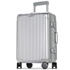 利马赫(liemoch)丽美系列铝镁合金框旅万向轮智能旅行拉杆箱
