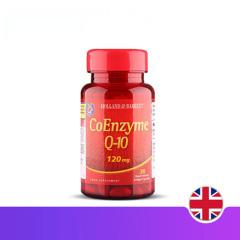 英国HB 荷柏瑞辅酶Q-10营养软胶囊120mg30粒 心脏保健品