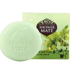 韩国原装进口爱敬橄榄绿茶香皂100g