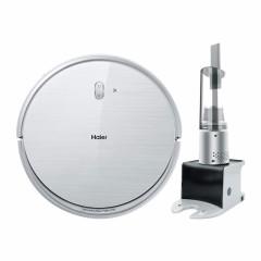 海尔(Haier)扫地机器人银悦规划式家用电器全自动智能吸尘器银芯TT50SSC