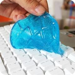 键盘魔力去尘胶 创意家居万能清洗胶2个装