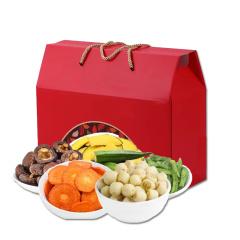 边走边淘 美味蔬菜干脆片礼盒(6种)  包邮