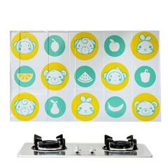 厨房防油贴纸 耐高温瓷砖墙贴 防水防油自粘贴纸