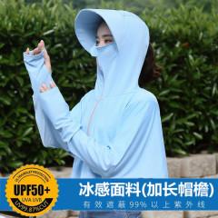 防晒衣女2020新款夏防紫外线冰丝防晒衫短款长袖防晒服仙女薄外套