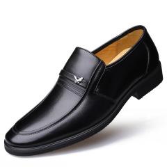 大红鹰男士皮鞋 头层牛皮正装商务皮鞋圆头套脚
