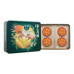 中国香港 美心(Meixin)经典五仁月饼礼盒740g 港式中秋月饼礼盒