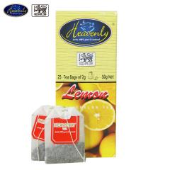 斯里兰卡原装进口 HEAVENLY 哈文迪柠檬味调味茶(2g*25袋)50g
