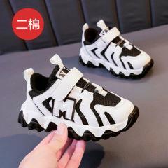 聚邦   儿童网布运动鞋2020年春秋新款跑步休闲鞋男童女童鞋二棉秋冬波浪