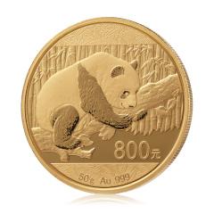 2016首枚50克熊猫精制金币珍藏