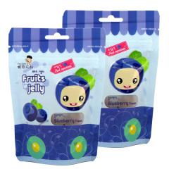 韩国进口帕克大叔蓝莓味果汁软糖2袋装