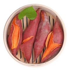 正宗福建漳浦六鳌沙地红薯 5斤 自家新鲜红心地瓜 好吃无公害