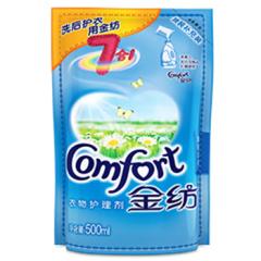 金纺(COMFORT)衣物护理剂 清新柔顺500ml(柔顺剂)