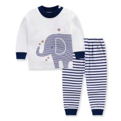 新款童装春秋韩版儿童内衣套装纯棉秋衣秋裤两件套宝宝家居服