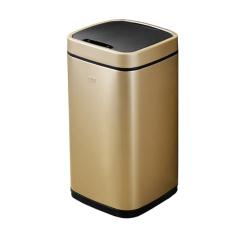 宜可/EKO 臻美系列自动感应垃圾桶 9288P-CG-9L 香槟金 金色