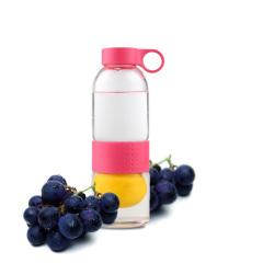 SIMELO施美乐首尔风情玻璃多功能柠檬杯 高硼硅果汁杯 榨汁杯 750毫升