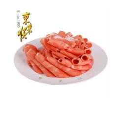 东来顺 鲜嫩羊肉片300g 内蒙古特产 新鲜清真羊肉卷 火锅食材