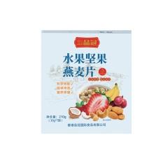 品冠 水果坚果混合燕麦片210g