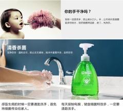 洁宜佳芦荟洗手液500ml*2