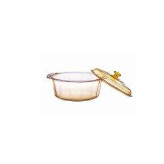 美国 康宁 晶钻透明锅4.1L VS-41-DI·琥珀色